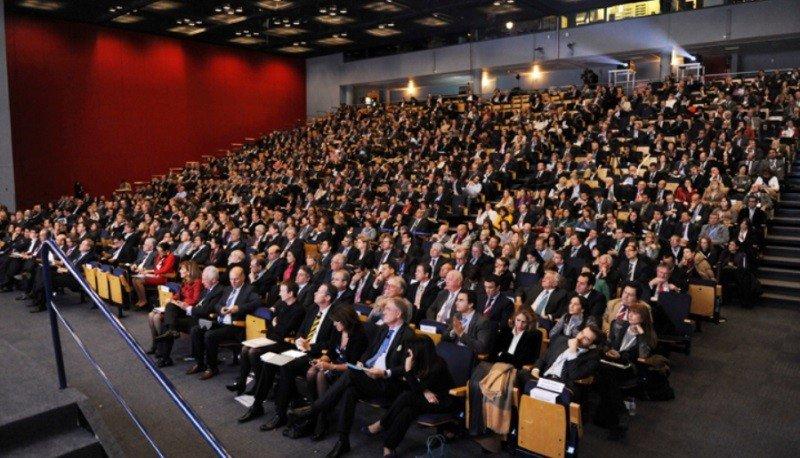 Imagen general del sexto Foro Exceltur, que tuvo lugar en 2012.