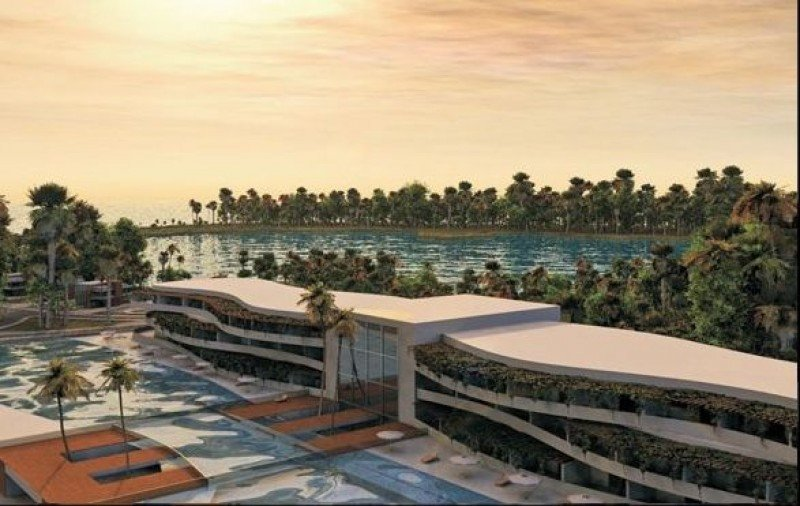 Actualmente hay 46 hoteles de lujo y 9.000 habitaciones en construcción.