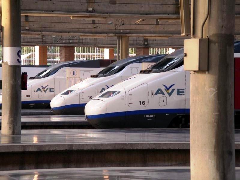 Aumenta un 12% el número de pasajeros del AVE
