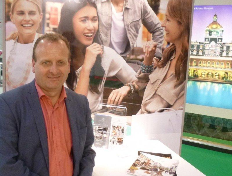 Ian Stazicker, en una imagen tomada en la feria World Travel Market de Londres el pasado noviembre.