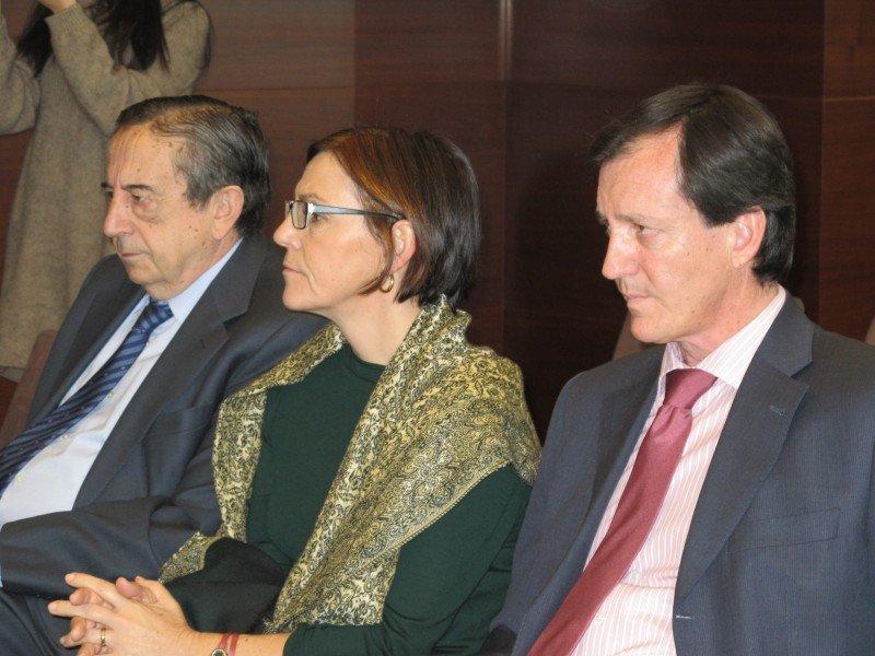 Fermín Lucas, director general de Ifema, y Ana Larrañaga, directora de Fitur, asistieron a la presentación del Foro.