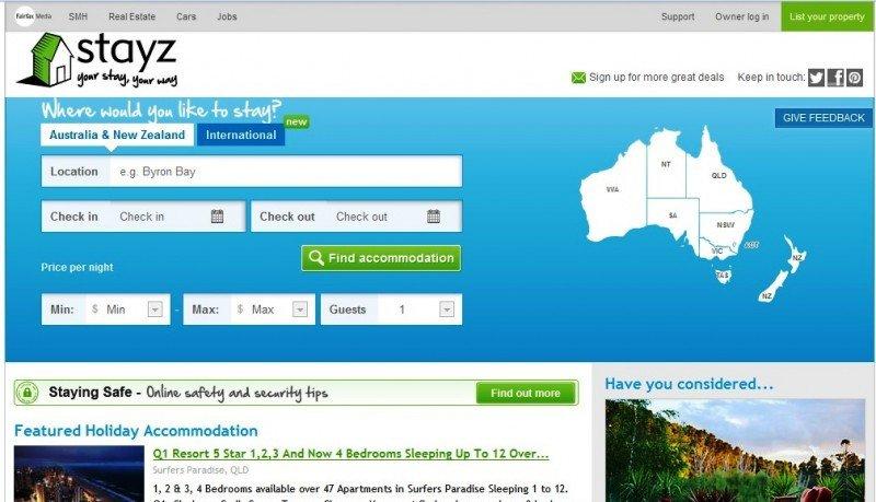 HomeAway compra el portal australiano Stayz por 144 M €