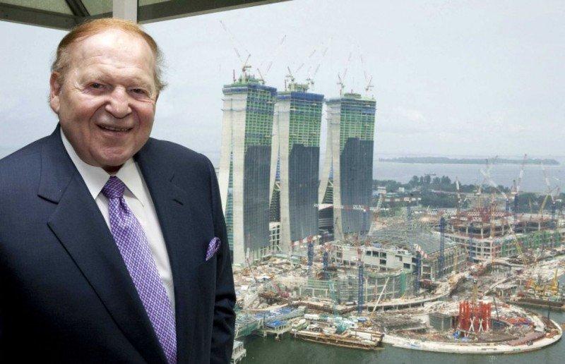 Sheldon Adelson, presidente de Las Vegas Sands.