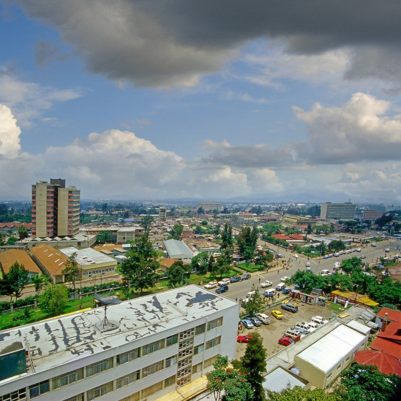 Etiopía tiene un gran potencial para el turismo. Foto Addis Abeba. #shu#.