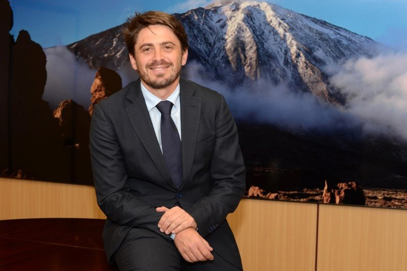 Jorge Marichal, presidente de la Asociación Hotelera y Extrahotelera de Tenerife, La Palma, La Gomera y El Hierro (Ashotel).