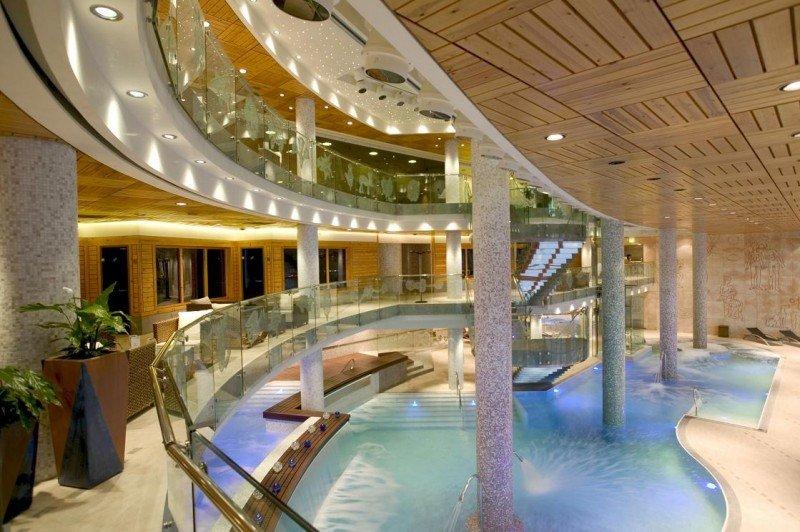 Spa del Sport Hotel Hermitage, de 5 estrellas.