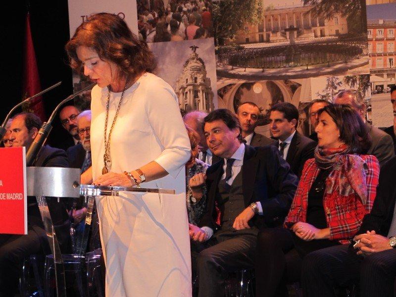 Ana Botella dijo que la nueva entidad estará integrada en Madrid Destino.