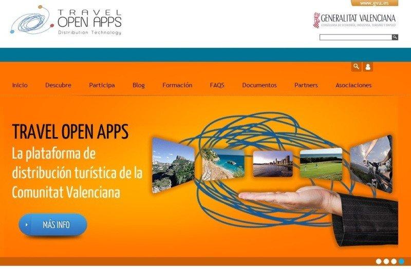 Web de Travel Open Apps.
