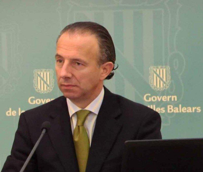 Carlos Delgado, consejero de Turismo de Baleares.