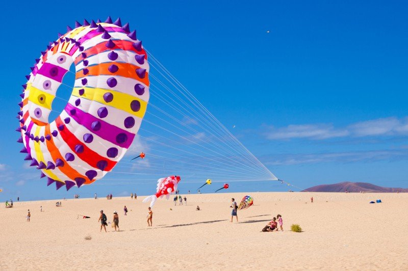 Las dunas de Corralejo constituyen uno de los grandes atractivos del municipio. #shu#