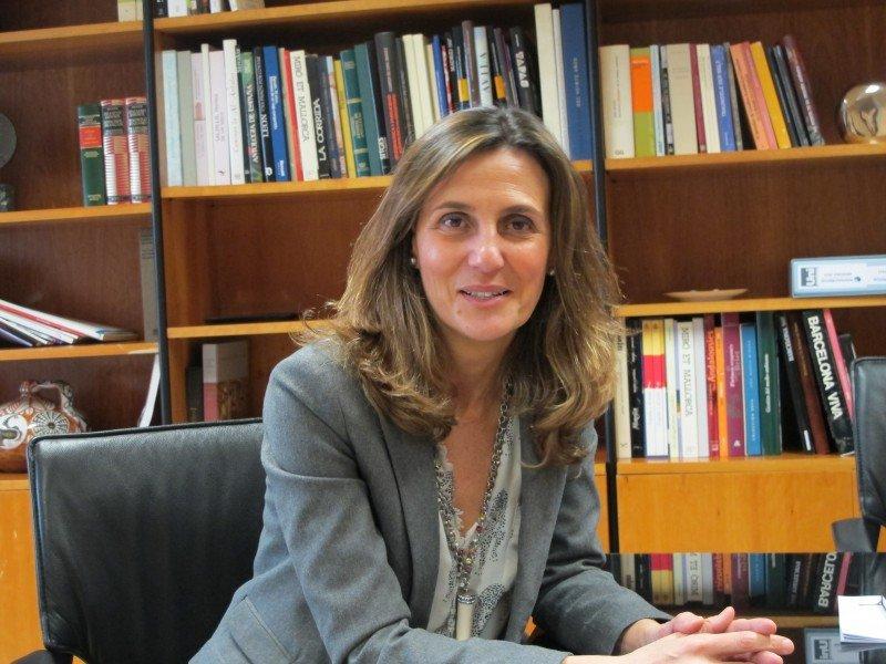 """Marta Blanco asegura que los buenos datos de 2013 """"nos obligan a ser más profesionales y más competitivos""""."""