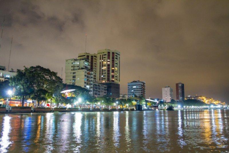 Malecón de la ciudad de Guayaquil. #shu#