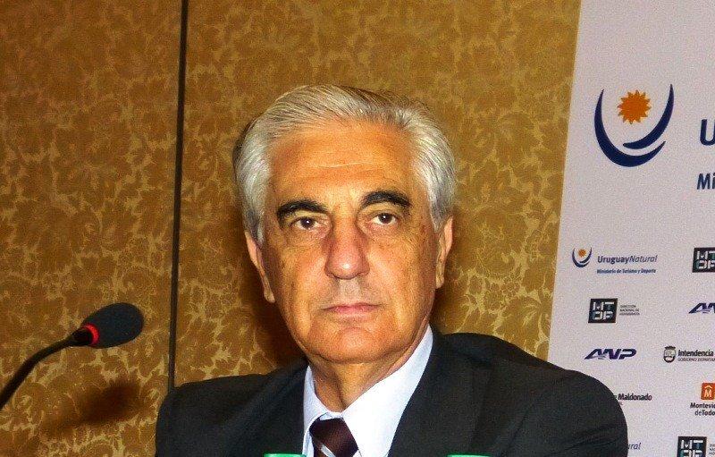 Osvaldo Tabacchi, de la Administración Nacional de Puertos.
