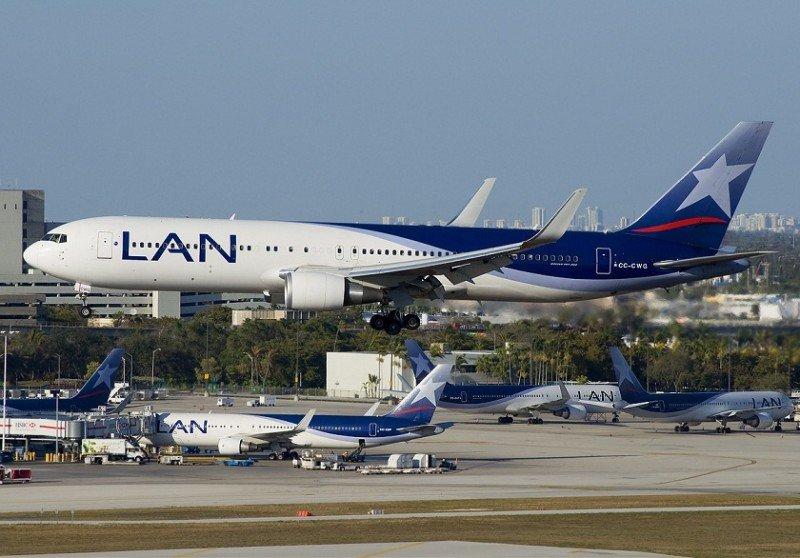 LAN abre una nueva ruta entre Bogotá y Aruba