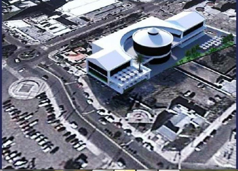 Proyecto de la terminal de pasajeros y open mall en la zona portuaria.