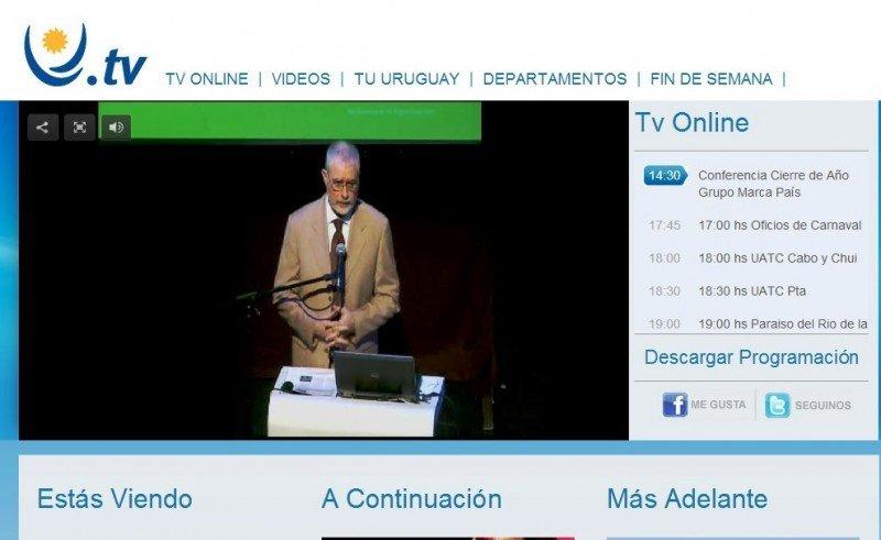 La conferencia fue transmitida online por UruguayNatural.tv