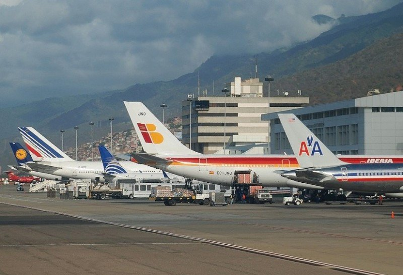Aeropuerto Internacional de Maiquetía 'Simón Bolivar'.