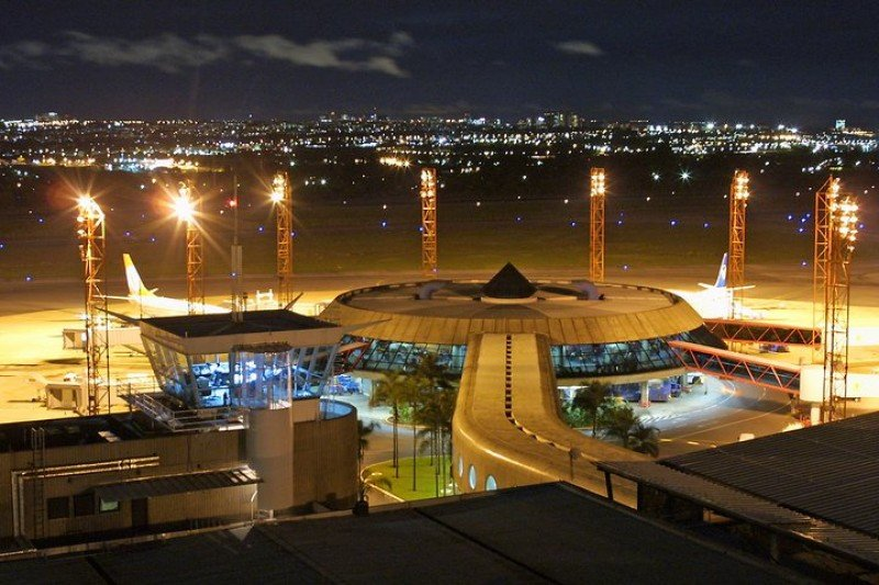 Aeropuerto de Brasilia.