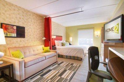 Cuenta con 97 suites y es el primer hotel fuera de Estados Unidos.