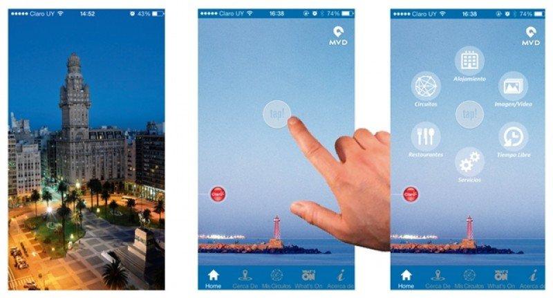 La app está disponible en español e inglés.