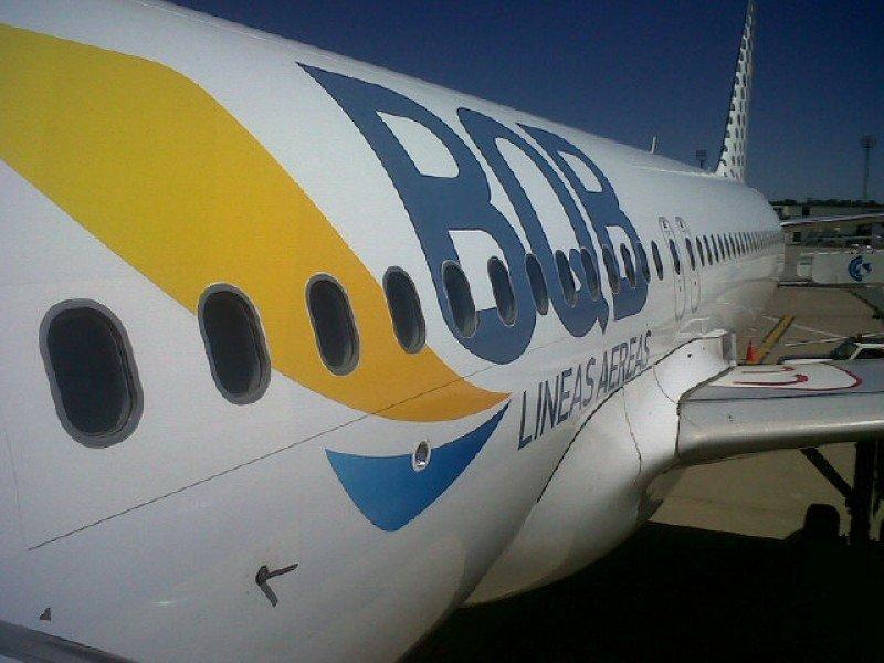 Primer Airbus de BQB.