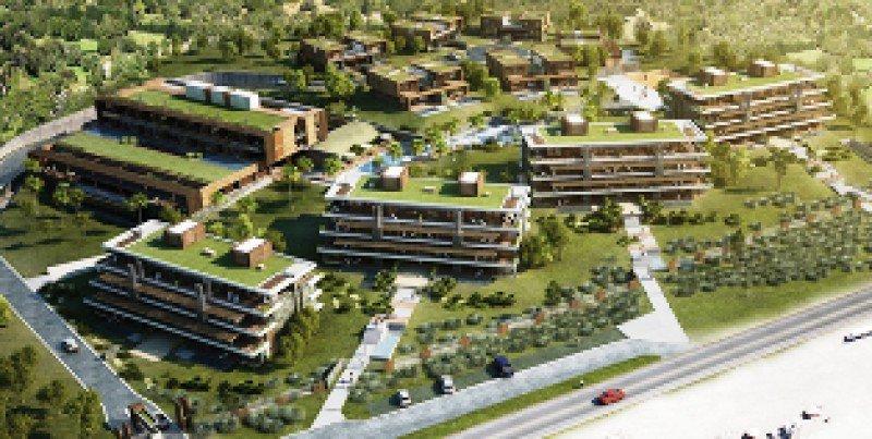 Proyecto de Selenza Village Hotel en Manantiales.