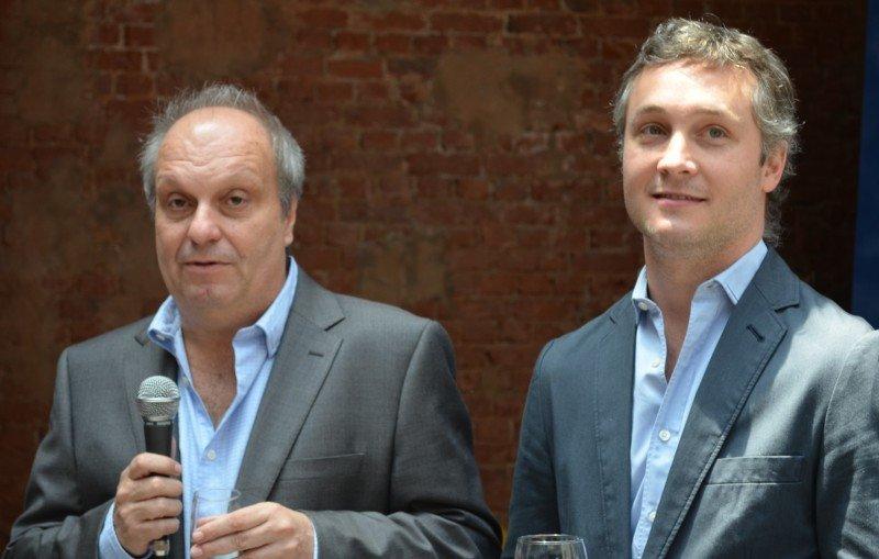 Hernán Lombardi (Ministro de Cultura) y Fernando De Andreis (Presidente Ente de Turismo).
