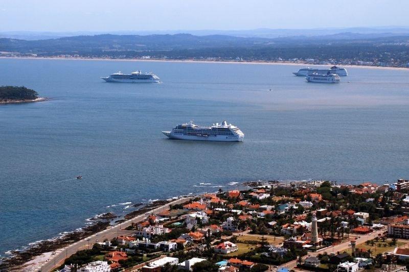 Punta del Este espera 24.000 visitantes de cruceros en menos de 48 horas.