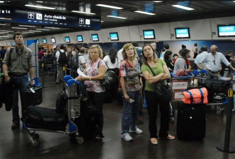 Por Aeroparque pasaron más de 850.000 pasajeros en noviembre.