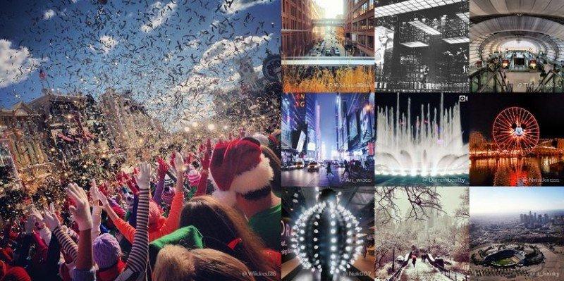 Los lugares y ciudades con mayor presencia en Instagram en 2013