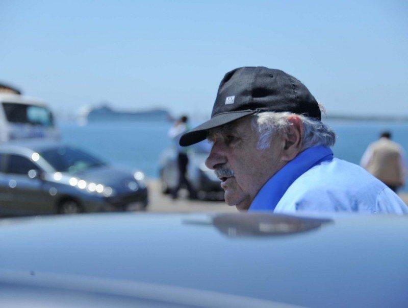 Presidente Mujica en Punta del Este. Foto: Presidencia