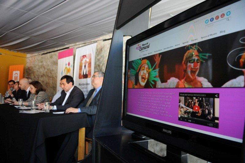 Lanzamiento de la nueva web del Museo del Carnaval.