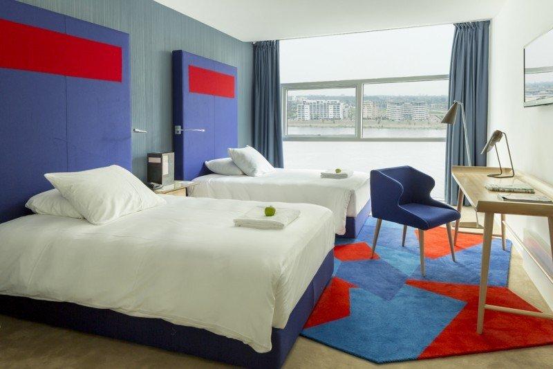 Room Mate ha inaugurado en 2013 su hotel más grande, el Aitana, en Amsterdam (en la imagen); año en el que ha batido récords de ocupación, RevPar y Ebitda.