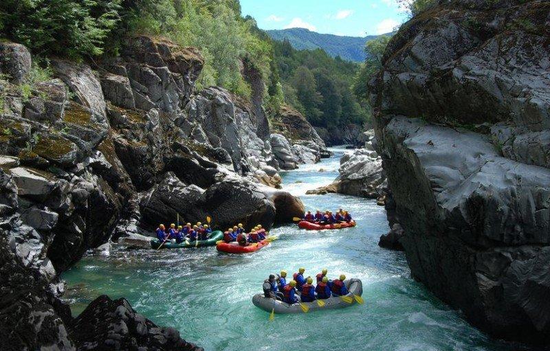 Rafting en Bariloche.