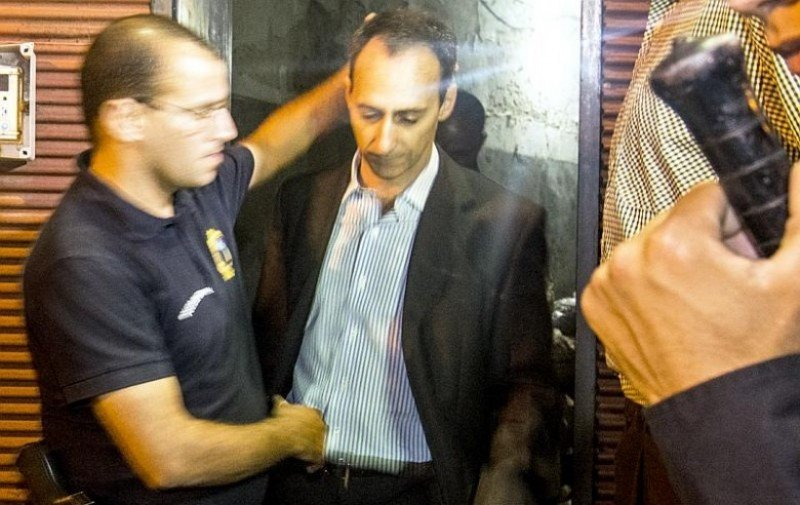 Campiani fue procesado con prisión y conducido a Cárcel Central. Foto: diario El Observador