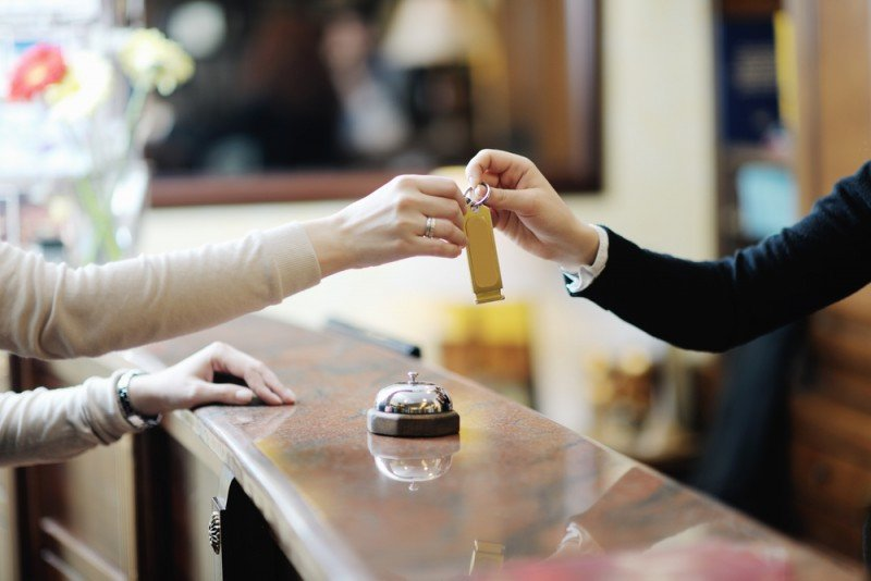 La ocupación hotelera promedio fue del 41,3% en octubre. #shu#