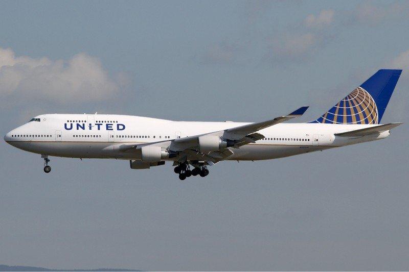 United Airlines transportó 1,4% menos pasajeros hasta noviembre