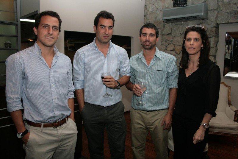 Bruno Varaldo, Federico Belora, Sergio Tournier y Rossana Domínguez.