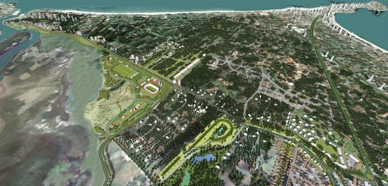 Proyecto de desarrollo para el eje Aparicio Saravia en Punta del Este.