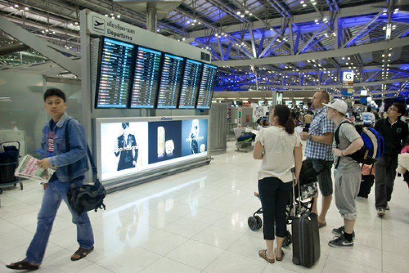 Aeropuerto de Bangkok. #shu#