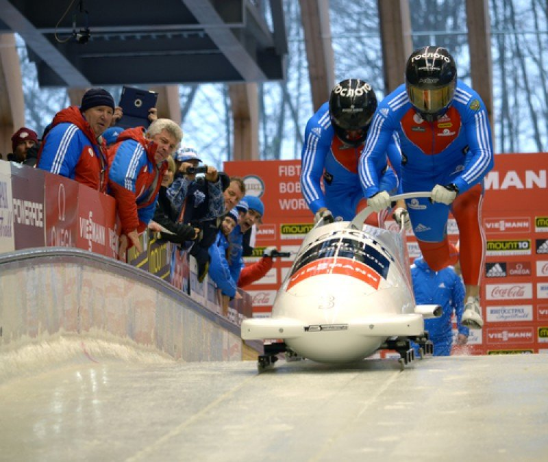 Pruebas deportivas en la estación invernal de Sochi, Rusia. #shu#