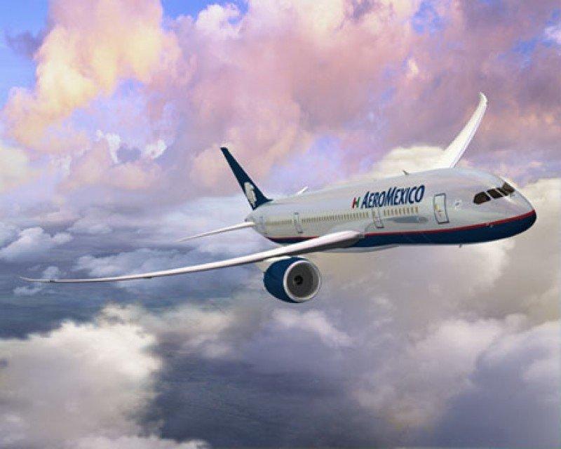 Nuevas rutas y el B787 impulsan el tráfico internacional de Aeroméxico