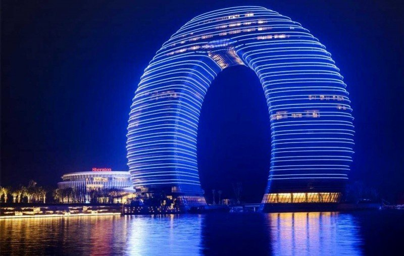 Sheraton Huzhou Hot Springs Resort.