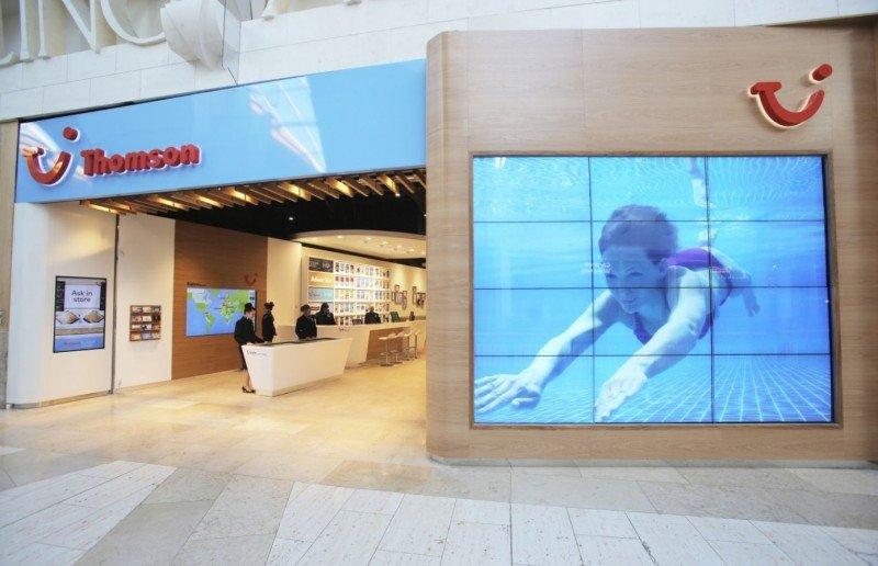 Thomson atrae ahora a los clientes con tiendas de nueva generación.