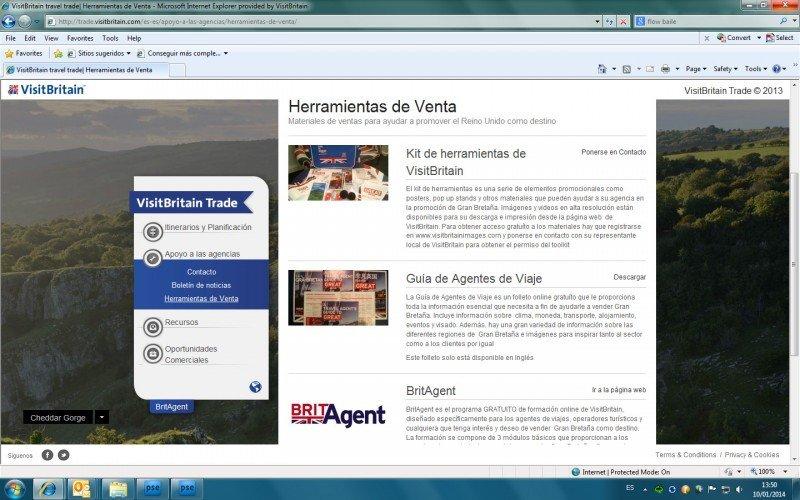 VisitBritain crea una web para ayudar a los agentes de viajes a comercializar el destino