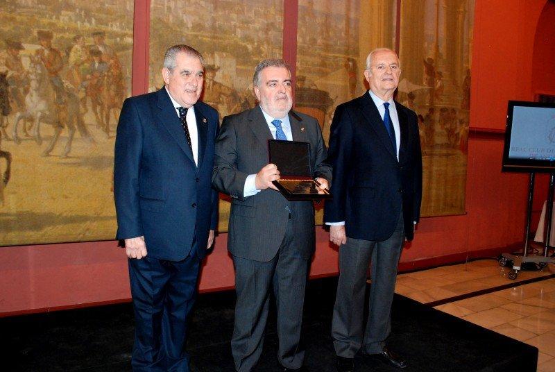 Antonio Távora, Jesús Contreras y Luis Uruñuela.