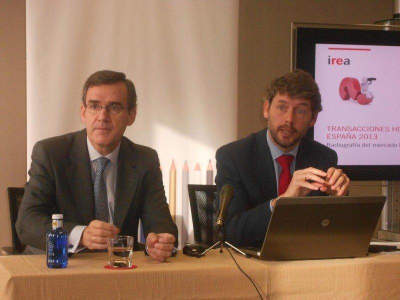 Este año ha sido el del retorno de la confianza de los inversores en el mercado español, según los socios de Irea.