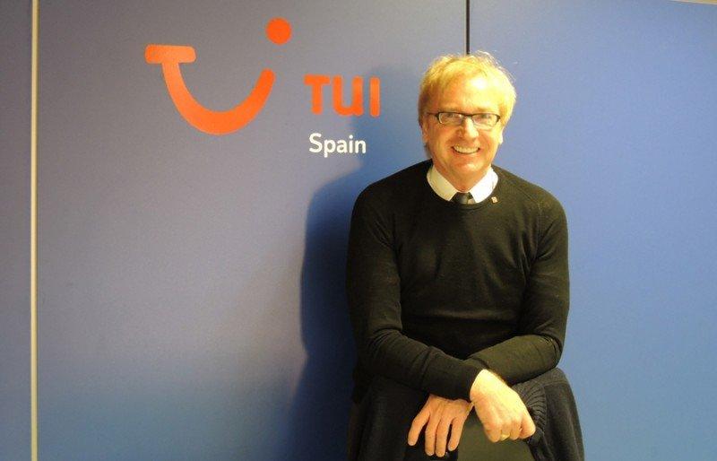 Stefan Dapper, director general de TUI Spain.