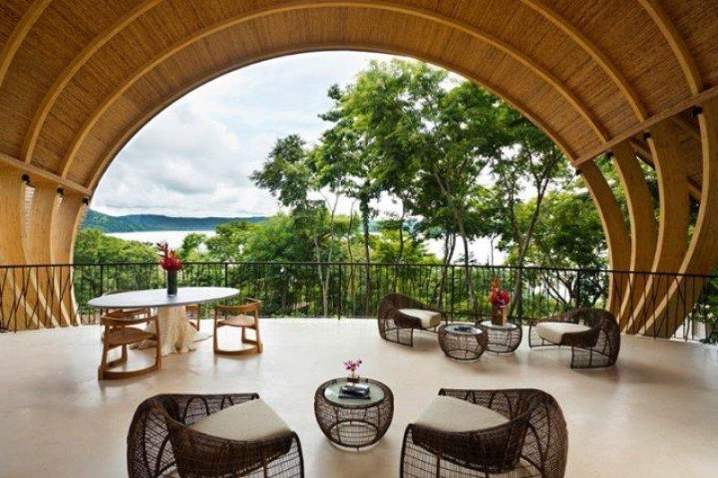 El hotel tiene vista panorámica a la bahía de Culebra.