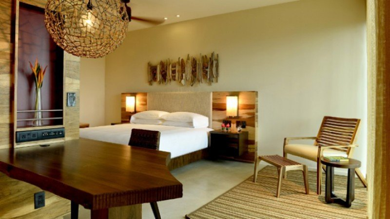Hay 153 habitaciones, incluidas 21 suites de lujo.